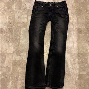 Mek jeans size 27W 34L